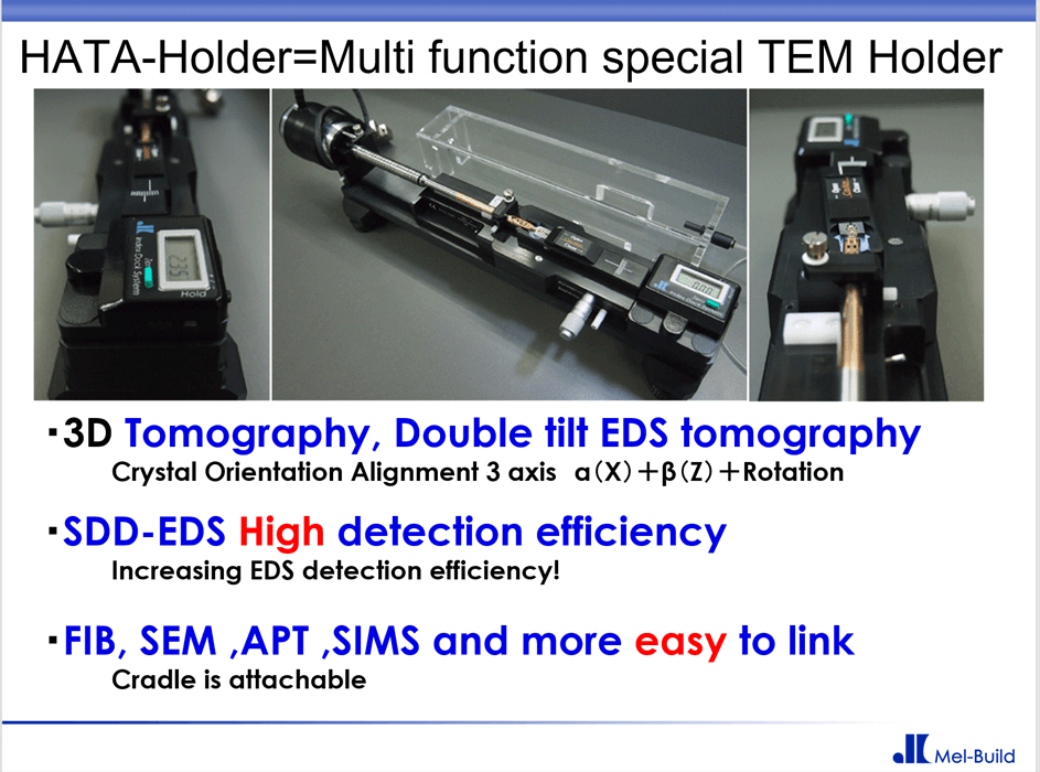 EDS Tomography HATA-Holder